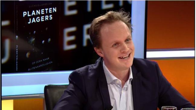 Lucas bij TV Limburg, 22 januari 2015
