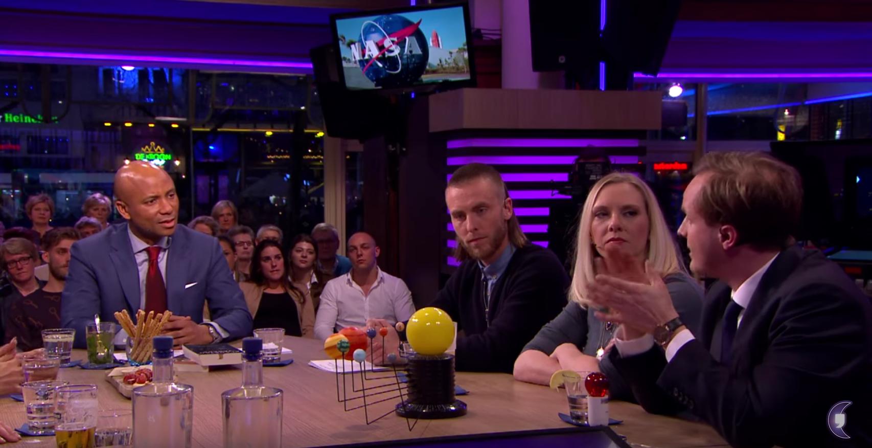 Lucas bij RTL Late Night, 22 februari 2017